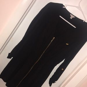 Guess Dresses - Black Guess dress with Zipper front